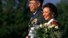 Colin L. Powell [& Wife];Alma Powell